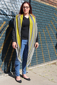 Anzula Bee Sting Shawl Kit - Scarf and Shawls