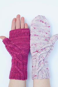 Madelinetosh Counterbalance Mitts or Mittens Kit - Hats and Gloves