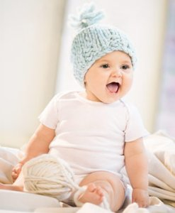 Blue Sky Alpacas Bulky Baby Hat  Kit - Baby and Kids Accessories