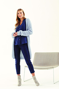 Rowan 008 Cardigan Kit - Women's Cardigans