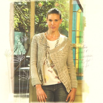 Manos del Uruguay Silk Blend Maria Cardigan Kit - Women's Cardigans