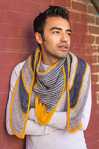 Renegade Knitwear Soundbreaker Shawl Kit - Scarf and Shawls