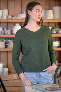 Berroco Weir Pullover Kit - Women's Pullovers