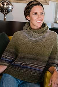 Trendsetter Cape Pullover and Cowl Kit - Women's Pullovers
