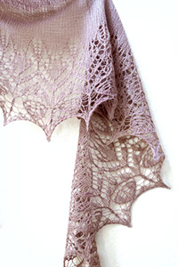 Kelbourne Woolens Just One of Those Things Shawl Kit - Scarf and Shawls