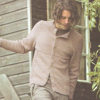 Rowan Purelife Organic Cotton Oak Kit - Mens Cardigans