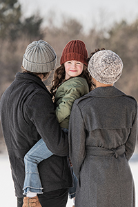 Blue Sky Fibers Hilltop Family Hats Kit - Hats and Gloves
