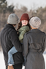 Blue Sky Fibers Hilltop Family Hats Kit