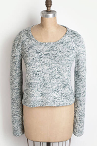 Blue Sky Fibers Springhill Sweater, Printed Kit - Women's Pullovers
