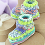 Sirdar Snuggly Baby Booties Kit