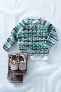 Sirdar Snuggly Round Neck Sweater Kit - Baby and Kids Pullovers