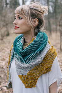 Magpie Fibers Baubles Wrap Kit - Scarf and Shawls