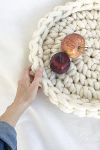Love Fest Fibers Isa Table Bowl Kit - Crochet for Home