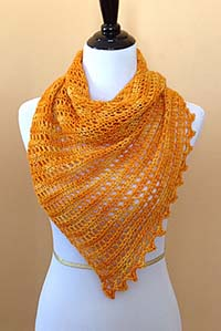 Anzula Harwinton Shawl Kit - Crochet for Adults