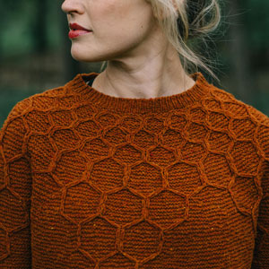 Lorna's Laces Shepherd Sock Wool and Honey Pullover Kit - Women's Pullovers