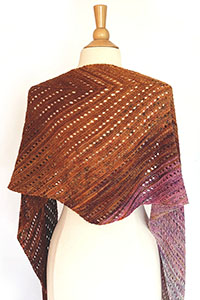 Koigu Venation Shawl Kit - Scarf and Shawls