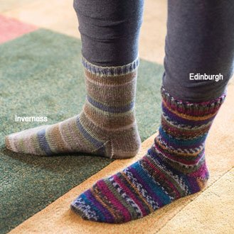 Berroco Sox Edinburgh Kit - Socks