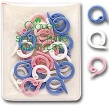 Clover Stitch Markers - Split Ring Markers