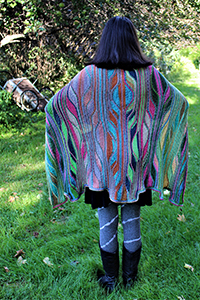 Urth Yarns or Cascade Le Roy Cape Kit - Women's Accessories