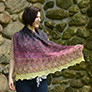 Madelinetosh Berry Crumble Shawl Kit