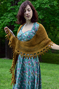 Biches et Buches Solarita Shawl Kit - Scarf and Shawls