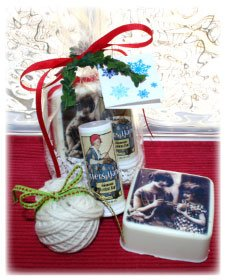Alsatian Soaps & Bath Products Knitters Basket