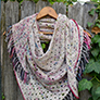 Madelinetosh Drop the Fringe Shawl Kit