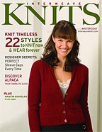 Interweave Knits Magazine - '07 Winter