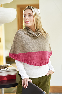 Berroco Pierrepont Poncho Kit - Women's Pullovers