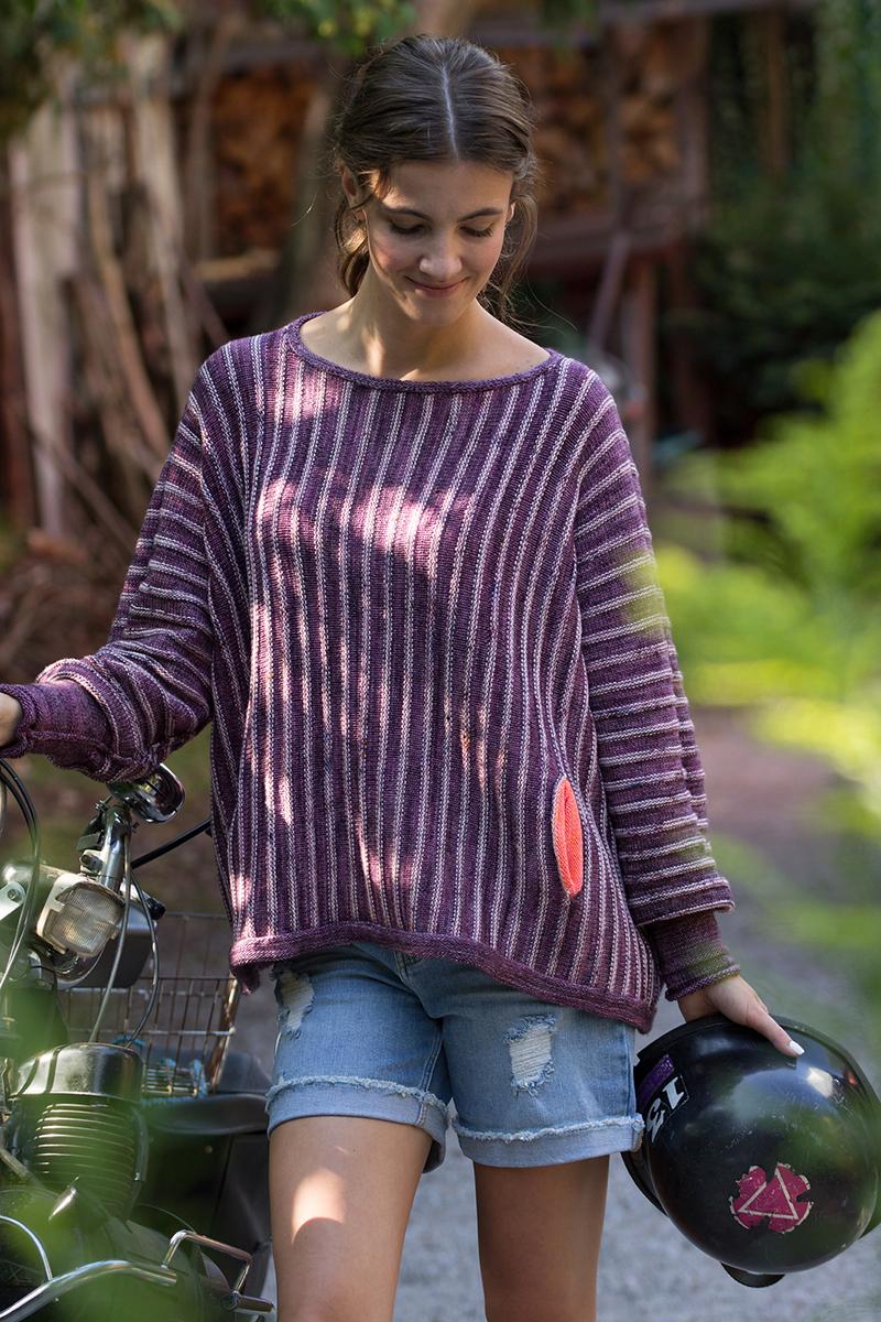 Madelinetosh Jill Pullover Kit - Women's Pullovers