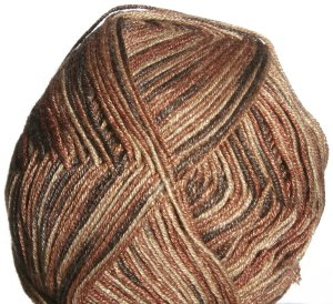 Crystal Palace Panda Silk Yarn - 4002 Nutmeg Tones