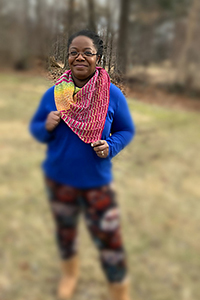 Fully Spun & Madelinetosh Orchid Path Shawl Kit - Crochet for Adults