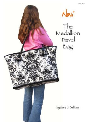 Noni Patterns - Medallion Travel Bag Pattern