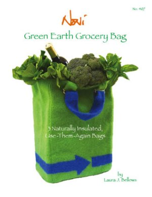Noni Patterns - Green Earth Grocery Bag Pattern