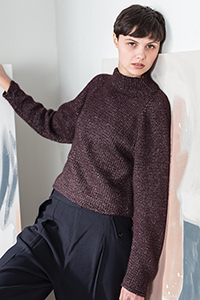 Woolfolk Kroyer Pullover Kit - Women's Pullovers