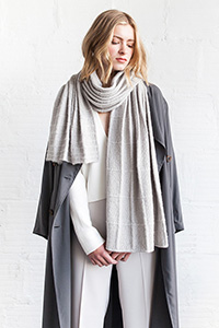 Woolfolk Torv Stole Kit - Scarf and Shawls