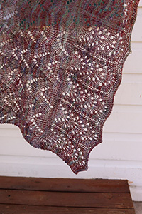Vrinda Yarn Continuity Scarf or Stole Kit - Scarf and Shawls