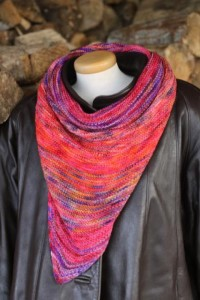 Koigu Paint Can Ana Shawl/Scarf Kit - Scarf and Shawls