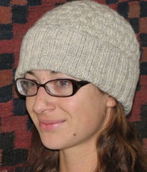KnittinIt Patterns - Basketweave Watch Cap Pattern