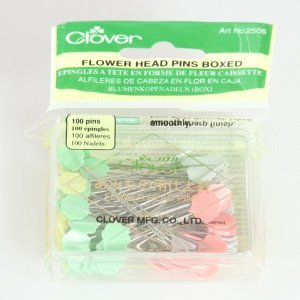 Clover Pins - Flower Head Pins
