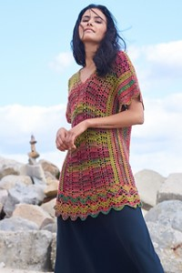 Berroco Medina Wingaersheek Tunic Kit - Women's Pullovers