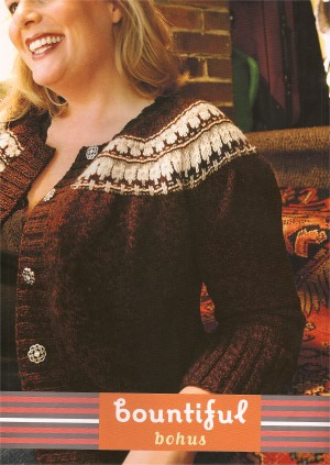Cascade 220 Bountiful Bohus Cardigan Kit - Women's Cardigans