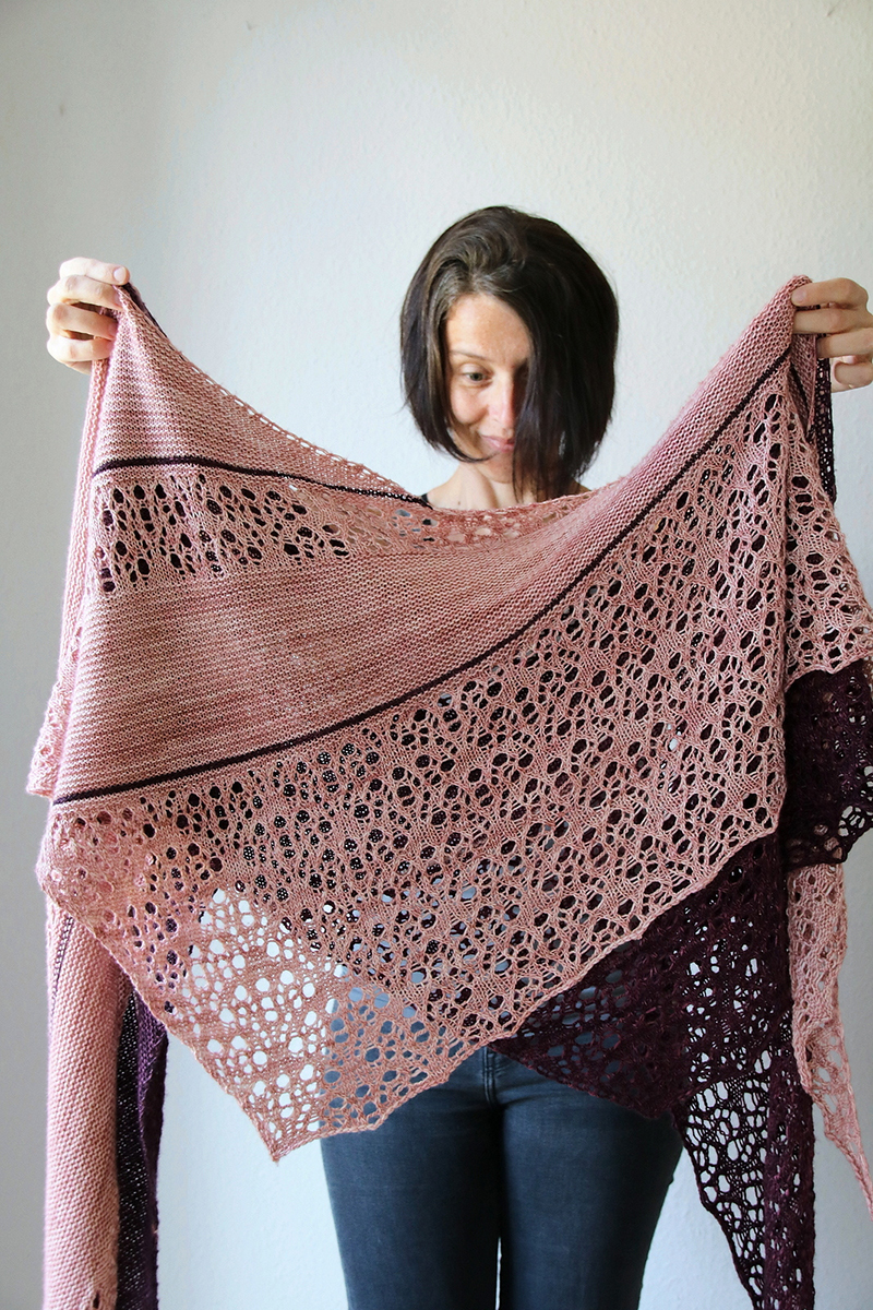 Madelinetosh Together Apart Shawl Kit - Scarf and Shawlsa