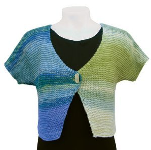 Knit One, Crochet Too Patterns - Yin Yang Bolero Pattern
