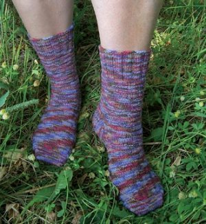 Knit One Crochet Too : Knit One, Crochet Too Patterns - Jungle Tile Socks Pattern at Jimmy ...