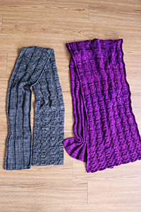Madelinetosh Crowley Scarf Kit - Scarf and Shawls