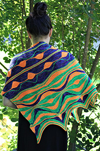 Madelinetosh Positive Vibrations Shawl Kit - Scarf and Shawls