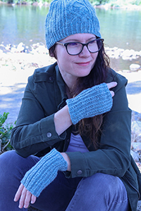 Long Island Yarn & Farm Terra Pines Kit - Hats and Gloves
