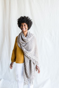 Madelinetosh Apollo Shawl Kit - Scarf and Shawls