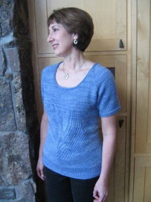 Knitting Pure and Simple Summer Sweater Patterns - 283 - Neckdown ...